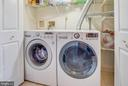 Laundry on entry level - 2179 S SHIRLINGTON RD, ARLINGTON