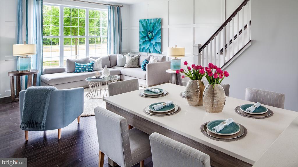 Hayes Dining/Great Room - 23563 NEERSVILLE CORNER TER, ASHBURN