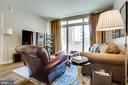 Living Room - 888 N QUINCY ST #512, ARLINGTON