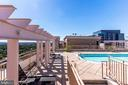 Rooftop Pool - 888 N QUINCY ST #512, ARLINGTON