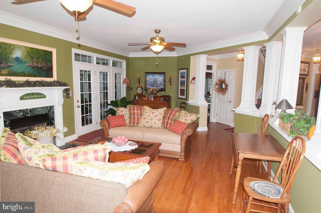 Great Room - Main Level - 11918 SANDY HILL CT, SPOTSYLVANIA
