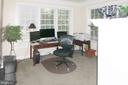 Master Bedroom Sitting Room/Office - Main Level - 11918 SANDY HILL CT, SPOTSYLVANIA