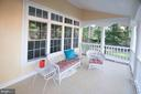 Porch off Kitchen - 11918 SANDY HILL CT, SPOTSYLVANIA