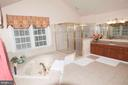 Master Bath - Upper Level - 11918 SANDY HILL CT, SPOTSYLVANIA