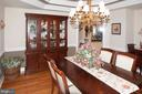 Dining Room - 11918 SANDY HILL CT, SPOTSYLVANIA