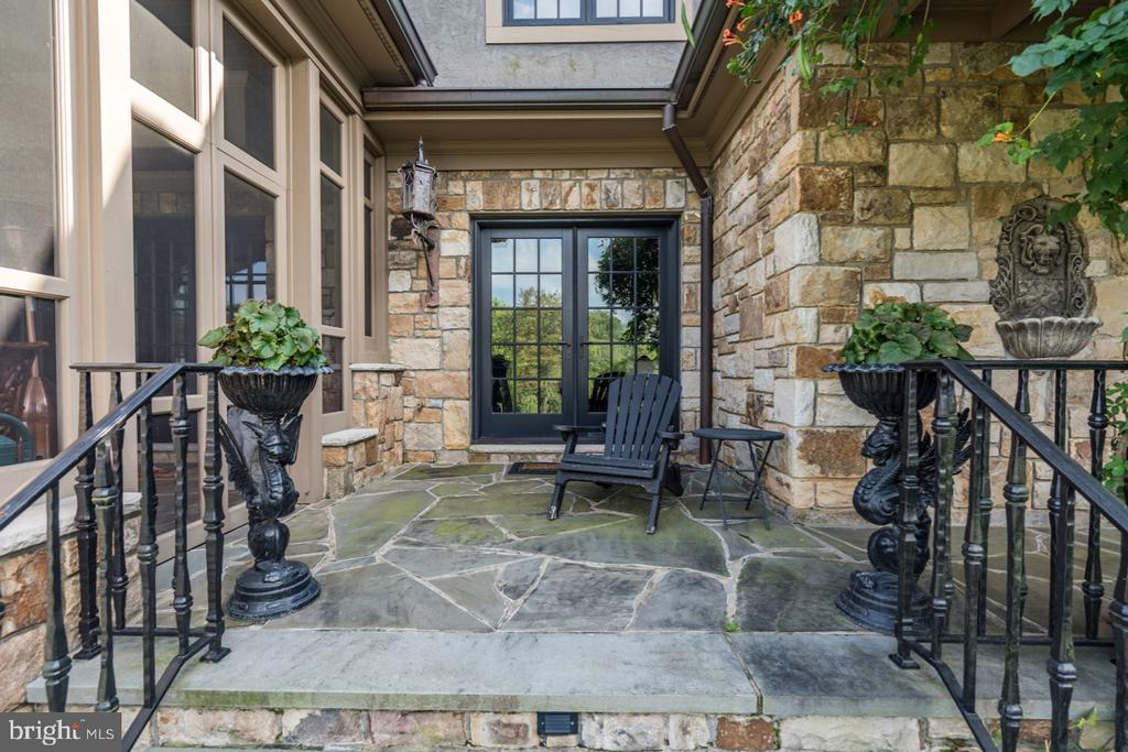 French Doors from Library - 626 PHILIP DIGGES DR, GREAT FALLS