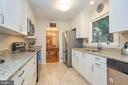 Kitchen with granite and Stainless Steel - 105 PATRICK ST SW, VIENNA