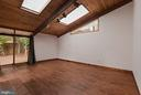 Lvg Rm - Vaulted, Cathedral Ceilings & Skylights! - 6411 RECREATION LN, FALLS CHURCH