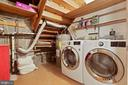 Laundry Room Features BRAND NEW WASHER & DRYER! - 6411 RECREATION LN, FALLS CHURCH