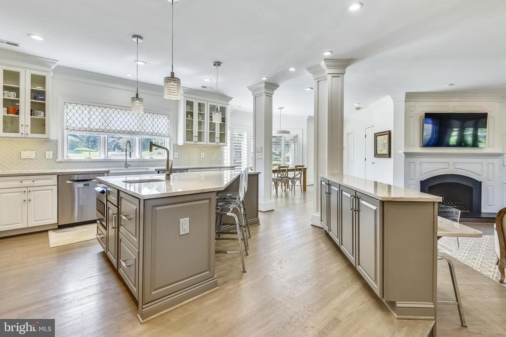 Gourmet Updated Kitchen - 40850 ROBIN CIR, LEESBURG