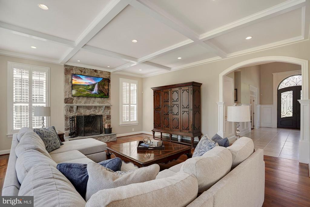 Family Room - 44220 RIVERPOINT DR, LEESBURG