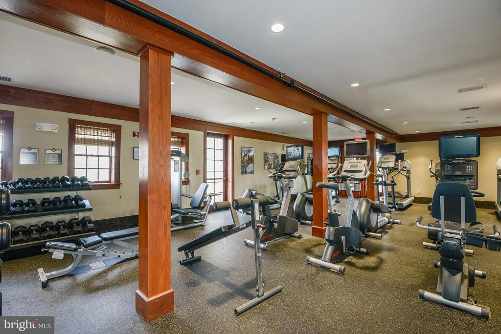 Potomac Club Exercise Room - 44220 RIVERPOINT DR, LEESBURG