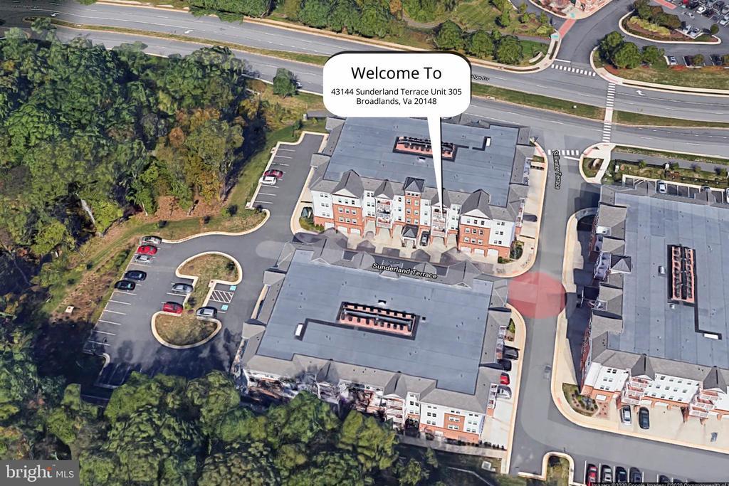 Aerial View - 43144 SUNDERLAND TER #305, BROADLANDS