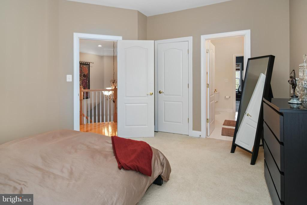 3rd Bedroom with Walk-In Closet - 43945 RIVERPOINT DR, LEESBURG