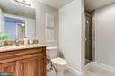 En-suite 2nd full bathroom - 1201 N GARFIELD ST #909, ARLINGTON
