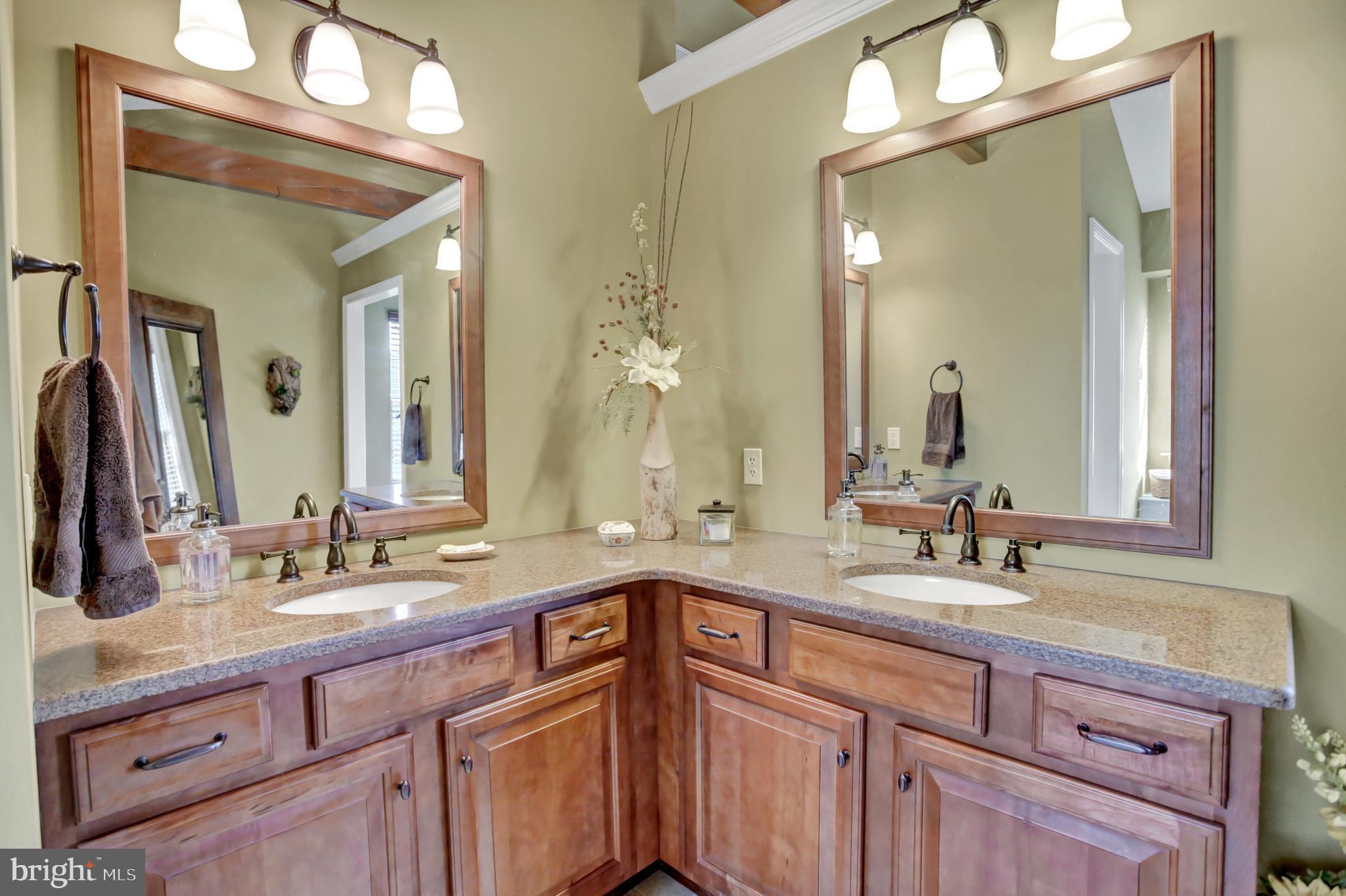 Master Bath w/ double sinks