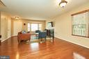 View of the Living Room from Dining Room - 919 SMARTTS LN NE, LEESBURG