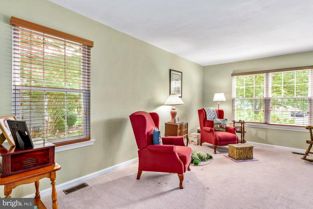 Light and Bright Living Room - 507 STONEY CREEK CT, STERLING