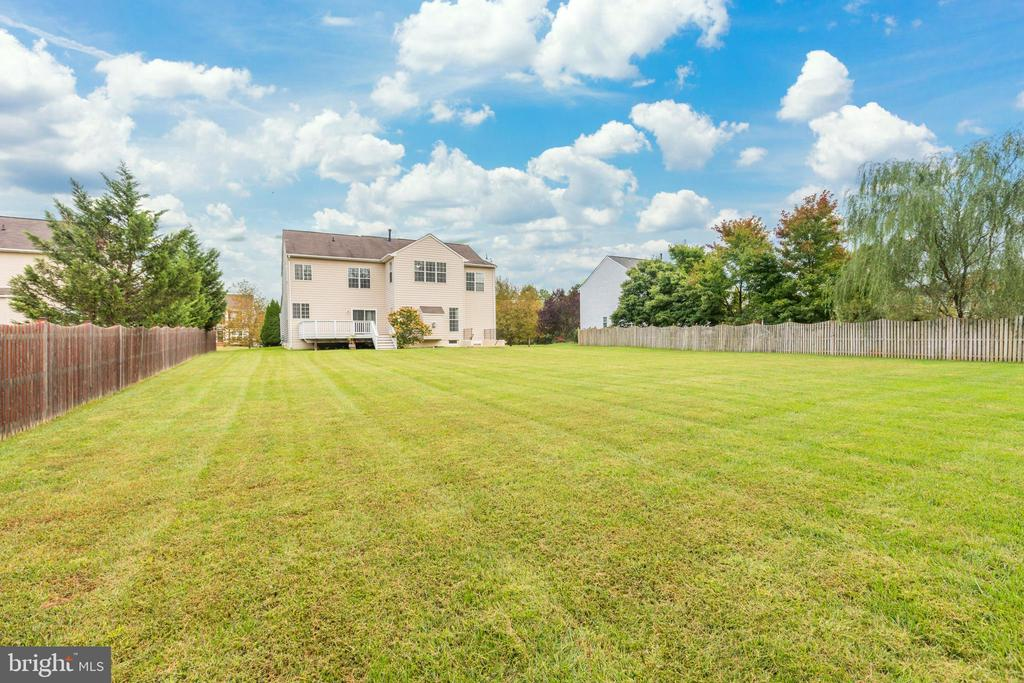Incredible Yard - 22151 WINTER LAKE CT, ASHBURN