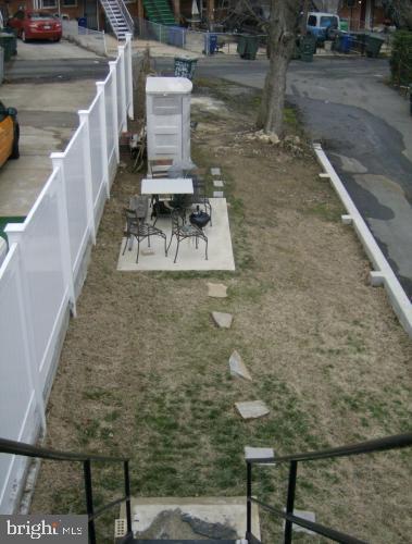 Rear Yard - 2211 15TH ST NE, WASHINGTON