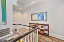 Second level hallway - 1310 RHODE ISLAND AVE NW, WASHINGTON