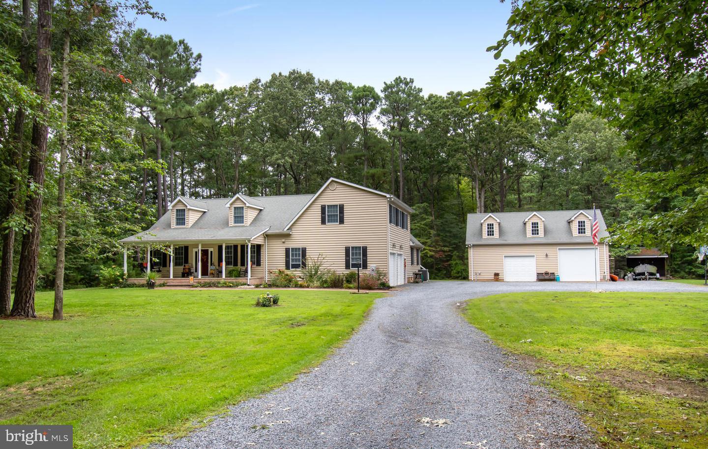 Single Family Homes 为 销售 在 Bozman, 马里兰州 21612 美国