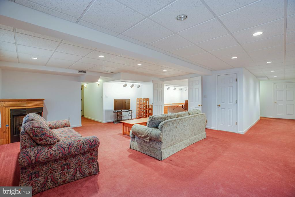 Rec Room is perfect for flex space - 6300 MARYE RD, WOODFORD