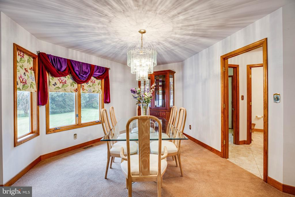 Formal Dining Room - 6300 MARYE RD, WOODFORD