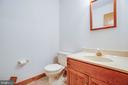 Main Level Powder Room - 6300 MARYE RD, WOODFORD