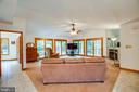 Full Lite French doors to admire the loblolly pine - 6300 MARYE RD, WOODFORD
