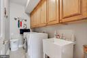 Laundry on the bedroom level - 4372 PATRIOT PARK CT, FAIRFAX
