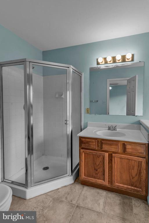 Primary Bathroom Separate Stand Alone Shower! - 13536 DARTER CT, CLIFTON