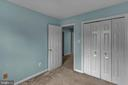 Bedroom #2 with Reach-In Closet! - 13536 DARTER CT, CLIFTON