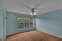 Primary Bedroom with View of Trees! - 13536 DARTER CT, CLIFTON