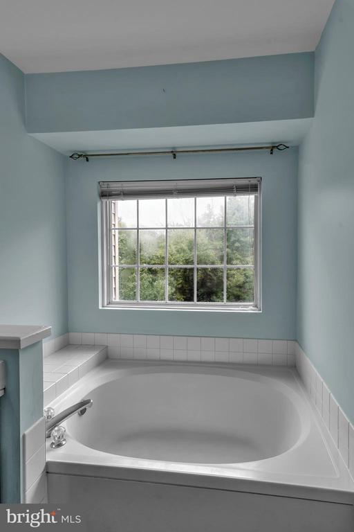 Primary Bathroom Soaking Tub with Window! - 13536 DARTER CT, CLIFTON