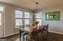 Dining area with fabulous views - 16928 TAKEAWAY LN, DUMFRIES