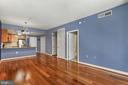 Living Rm - Spacious, Open, Light, Bright, & Airy! - 888 N QUINCY ST #207, ARLINGTON
