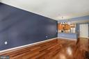 Living Room Boasts Gorgeous Hardwood Floors! - 888 N QUINCY ST #207, ARLINGTON