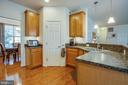 Kitchen with a pantry - 1916 MEADOW LARK DR, CULPEPER