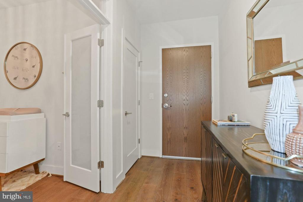 A True Foyer - Makes this Condo Feel Like a