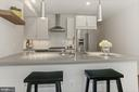 Breakfast Bar - Perfect for Casual Dining! - 2337 CHAMPLAIN ST NW #104, WASHINGTON