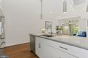 Expansive Kitchen Island - Perfect for Meal Prep! - 2337 CHAMPLAIN ST NW #104, WASHINGTON