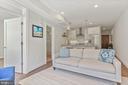 Living Room - Recess Lighting! - 2337 CHAMPLAIN ST NW #104, WASHINGTON