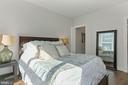 Bedroom Boasts a Large, Walk-In Custom Elfa Closet - 2337 CHAMPLAIN ST NW #104, WASHINGTON