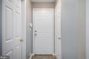 View  laundry room, garage entrance & hall closet - 5 JAMESTOWN CT, STAFFORD