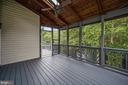 Screened in porch off kitchen - 5 JAMESTOWN CT, STAFFORD