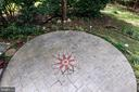 Gorgeous concrete stamped patio - 5 JAMESTOWN CT, STAFFORD