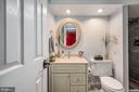 Lower level full bathroom - 5 JAMESTOWN CT, STAFFORD