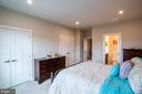 Spacious double closets in the master bedroom - 9903 NEW POINTE DR, UPPER MARLBORO