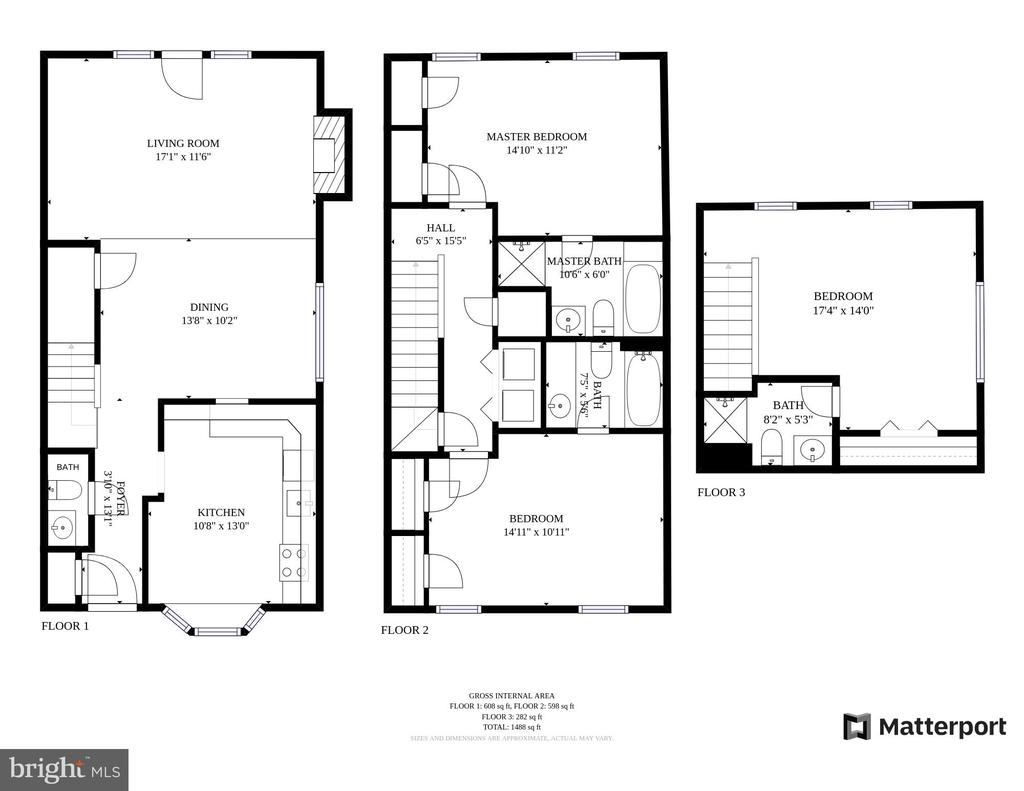 Floor Plans - 1164 N RANDOLPH ST, ARLINGTON